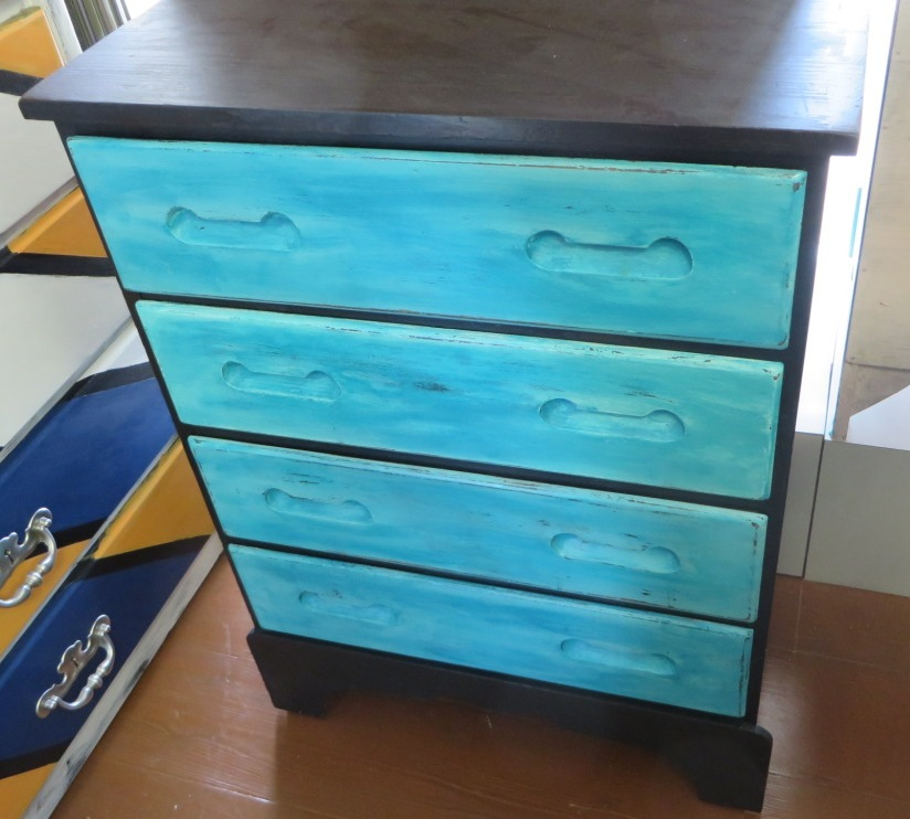 nightstands trunk themed baby hazel bedside nautical dresser barn boy table pottery home mae blue for inspired a